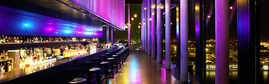 Skybar '20up' at Empire Riverside Hotel.