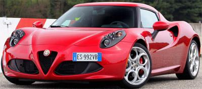 Alfa Romeo 4C: US$55,000 - expected 2015.