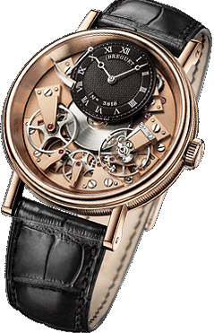 Breguet Tradition, model no. 7057BR/R9/9W6.