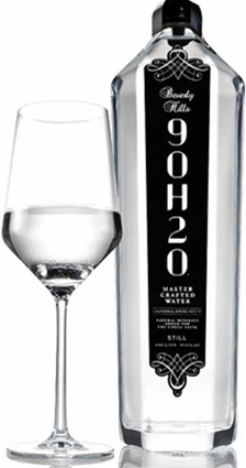 Beverly Hills 90H20 - The World's First Sommelier-Crafted Water.