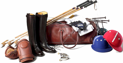 Asprey polo equipment.