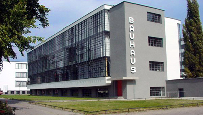 The Bauhaus Dessau (Germany).