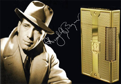 S.T. Dupont Humphrey Bogart Limited Edition Ligne 2 Lighter: US$1,700.