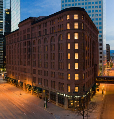 The Brown Palace Hotel & Spa, 321 17th St., Denver, CO 80202, U.S.A.