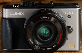 LUMIX DMC-GX1.