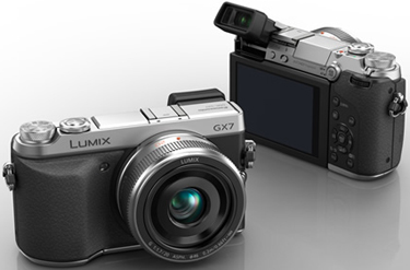 LUMIX DMC-GX7.