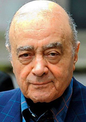Mohamed Al-Fayed.
