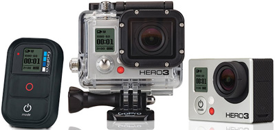 GoPro HERO 3 Black Edition.