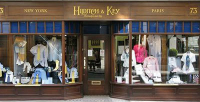 Hilditch & Key, 73 Jermyn Street, London, U.K.