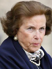 Liliane Bettencourt (1922-2017).