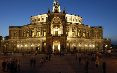 Semperoper, Dresden, Germany.