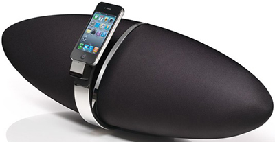 Bowers & Wilkins Zeppelin Air Wireless AirPlay Speaker Dock.
