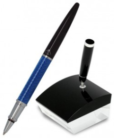 5280 Blue Desk Pen Stand: US$115.