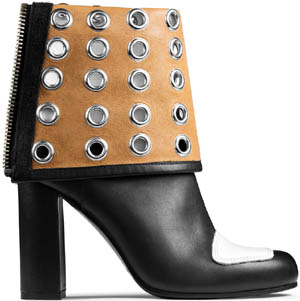 Acne Jagger eyelets black/white women's boot: US$1000.