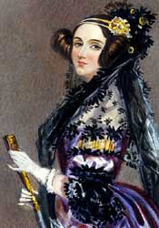 Ada Lovelace (1815-1852).