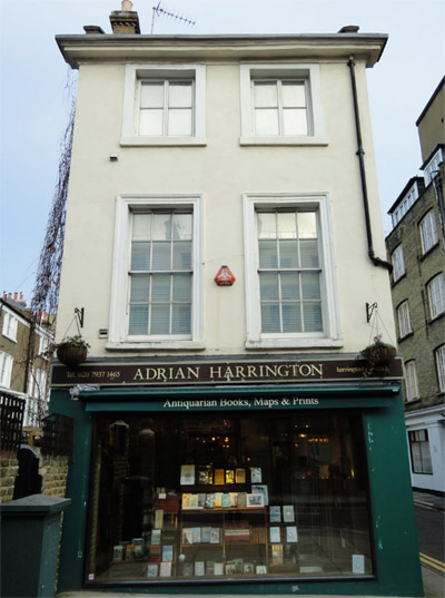 Adrian Harrington, 64a Kensington Church Street, Kensington, London, England, U.K.