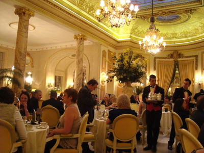 Afternoon Tea at The Palm Court at The Ritz, 150 Piccadilly, London W1J 9BR, England, U.K.