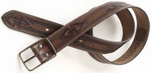 Agave Denim men's belt.