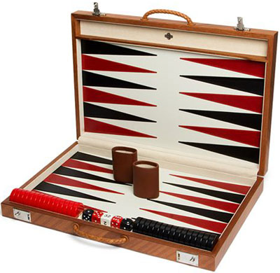Agresti Tournament Wooden Backgammon Set: US$1,296.