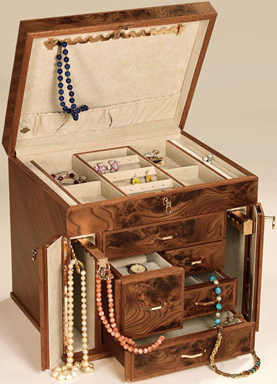 Top 35 Best High End Luxury Jewellery Boxes Cases Chests