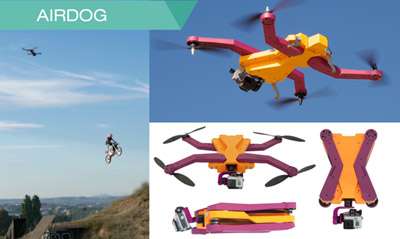 AirDog follows you around to record your action moments.