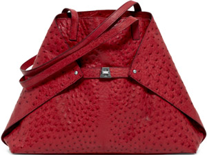 Akris Women's Ai Medium Ostrich Bag: €2,990.