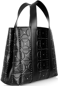Alaïa embossed leather tote bag: €2,590.