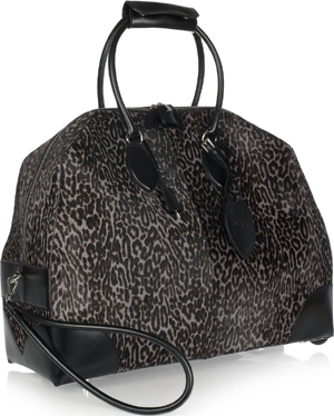 Alaïa Animal-print calf hair travel bag: €3,965.
