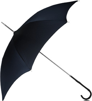 Azzedine Alaïa large umbrella: €500.