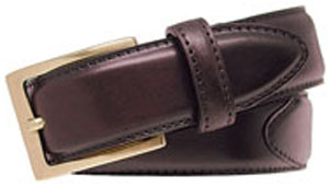 Alden 30mm Cordovan Dress men's belt.
