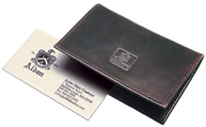 Alden Folding Business Card Case.