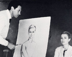 Alejo Vidal-Quadras and Grace Kelly - 'I consider Grace Kelly as one of the purest faces I have ever studied. A perfect oval, of a delicate and firm design. Her wideopen eyes were well proportioned and pure. Her nose and mouth admirable'.