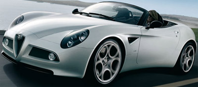 Alfa Romeo Spider - expected 2015.