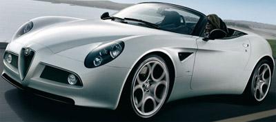 Alfa Romeo Spider - expected 2015.