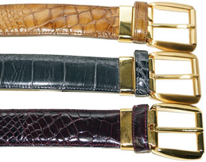 Alligator World Mezlan Alligator Men's Belts: US$299.