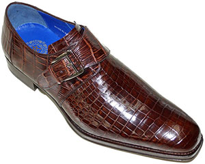 Alligator World Mezlan Platinum Custom Alligator Men's Shoe: US$1,050.