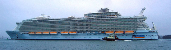 MS Allure of the Seas.