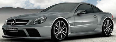 Mercedes-Benz SL 65 AMG Black Series.