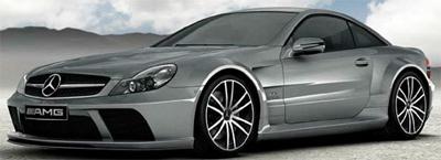 Mercedes-Benz SL 65 AMG Black Series.