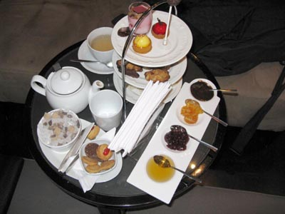 Afternoon Tea at the Amigo Bar at Hotel Amigo, Rue de l'Amigo 1, 1000 Brussels, Belgium.