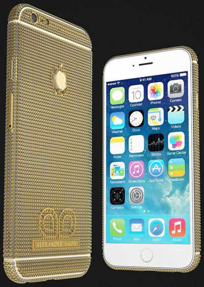 Amosu Call of Diamond iPhone 6: £1.7 million.