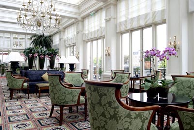 Afternoon Tea at The Lounge at InterContinental Amstel, Professor Tulpplein 1, 1018 GX Amsterdam, The Netherlands.