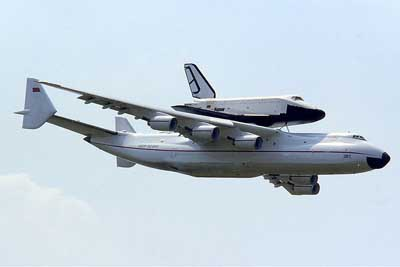 The World's Largest Cargo Plane Can Swallow a 737 Whole.