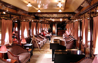 Al Andalus lounge car.