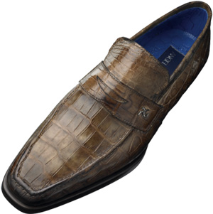 Angelo Galasso loafer, in crocodile: £3,880.