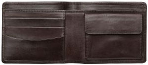 A.P.C. thick Italian leather wallet: US$195.