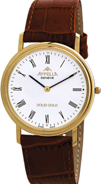 Appella Infinitus - Slimmest gold watch in the world!