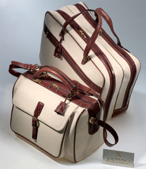 Artioli luggage.