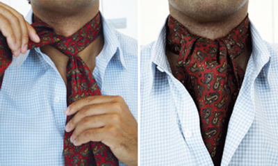 What's the difference between an Ascot and a Cravat?