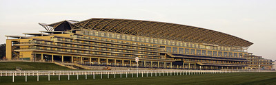 Ascot racecourse stand.